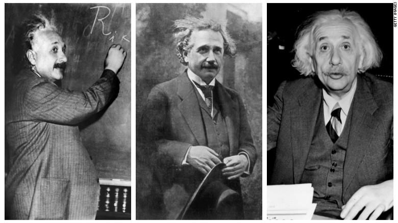 Dù mọi bộ đồ của Einstein đều giống nhau nhưng nhà khoa học huyền thoại luôn cố gắng ăn mặc chỉn chu (ảnh: Getty)