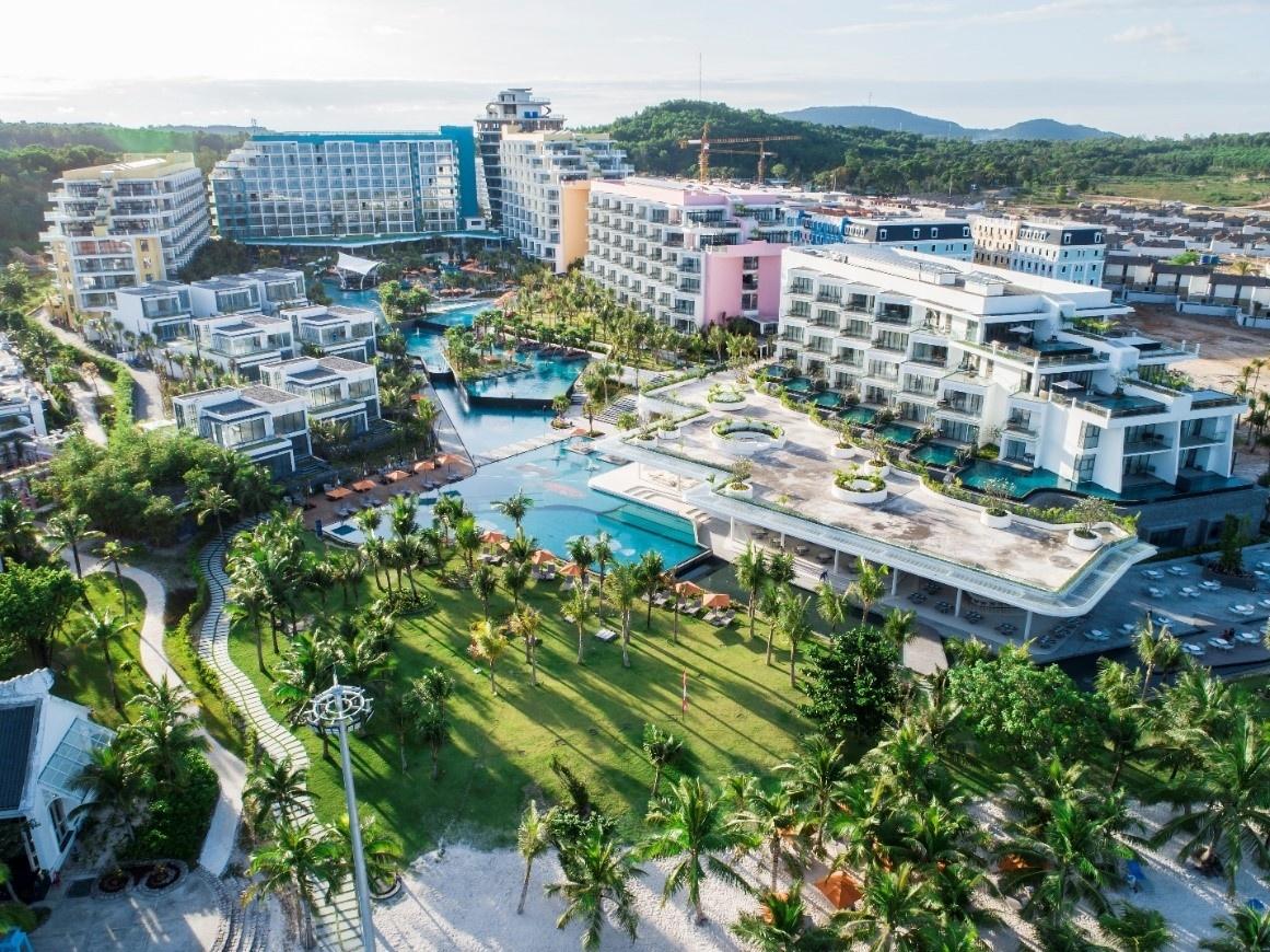 Toàn cảnh khu nghỉ dưỡng Premier Residences Phu Quoc Emerald Bay