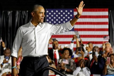 Ông Barack Obama vẫn là nhân vật có uy tín nhất trong đảng Dân chủ.
