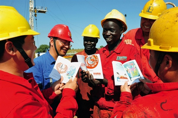 Trung Quốc là đi tiên phong trong việc xây dựng cơ sở hạ tầng ở khu vực châu Phi. Ảnh: Baogiaothong.vn