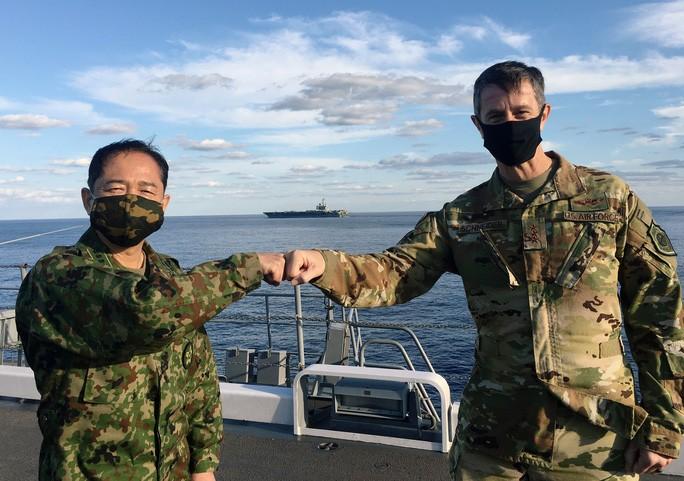 """Chỉ huy Mỹ công khai """"về phe"""" Nhật Bản đối đầu Trung Quốc ở Hoa Đông"""