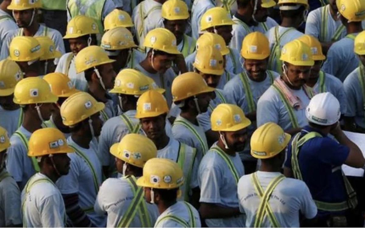 công nhân nhập cư