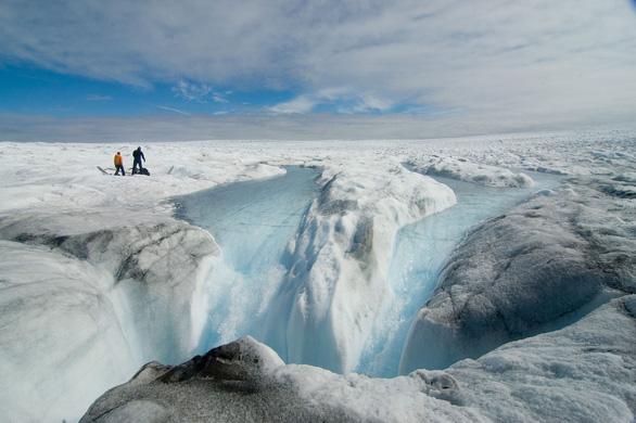 tan băng greenland