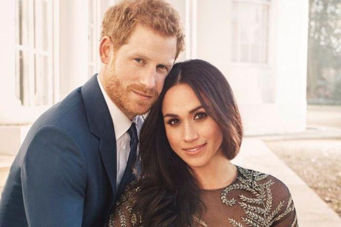Hoàng tử Harry và Meghan Markle. Ảnh: ABC