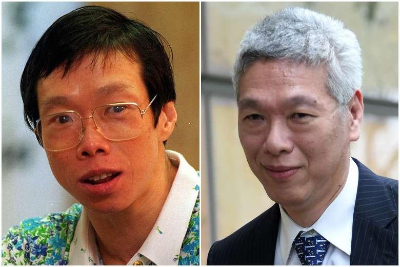 Bà Lý Vỹ Linh và ông Lý Hiển Dương - ảnh: AFP