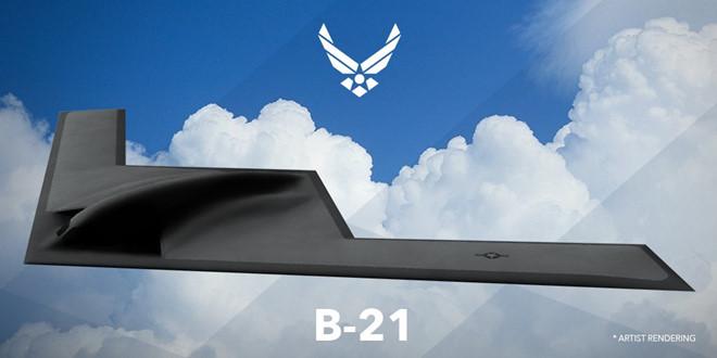 Hình dung về mẫu máy bay B-21