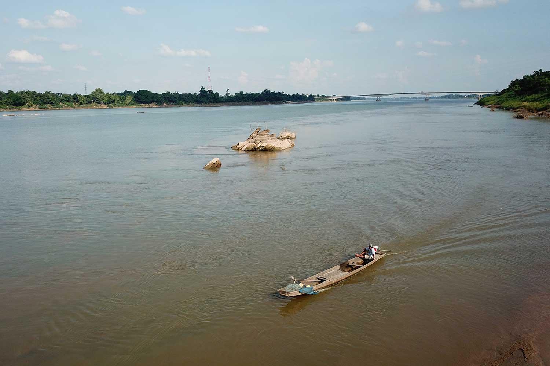 Một đoạn sông Mekong