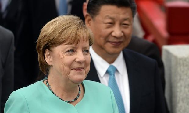 Thủ tướng Angela Merkel trong vai trò lãnh đạo nước chủ nhà của hội nghị thượng đỉnh G20 năm 2017. Ảnh: Anadolu Agency.