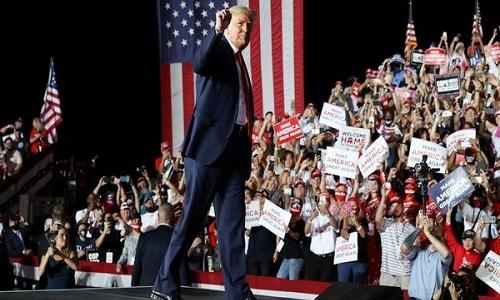 người ủng hộ tổng thống trump
