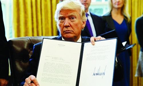 sắc lệnh tổng thống trump