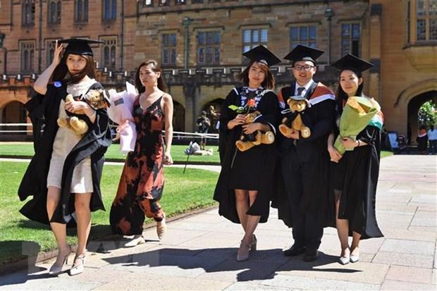 sinh viên quốc tế úc