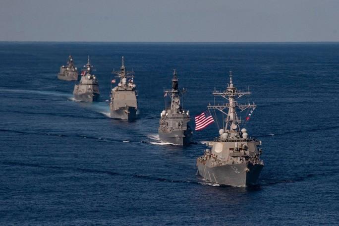 tàu chiến mỹ nhật