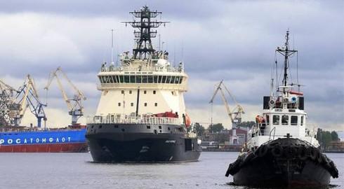 Nga đưa tàu chiến đấu phá băng đến Bắc Cực. Nguồn: 81.cn