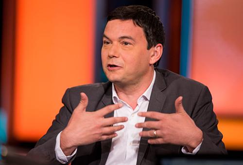 Giáo sư kinh tế nổi tiếng của Pháp Thomas Piketty. Ảnh: CNBC