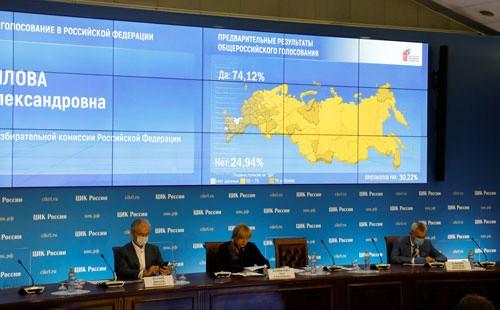 Người Nga vẫn đặt niềm tin vào ông V. Putin