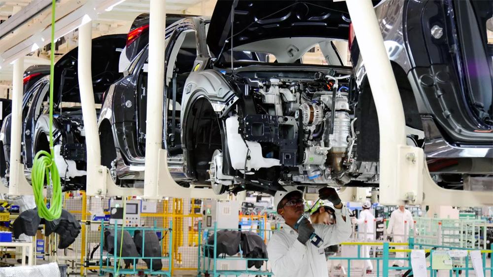Công nghiệp ô tô VN liệu có cơ hội khi công nghiệp hỗ trợ èo uột (ảnh minh họa)
