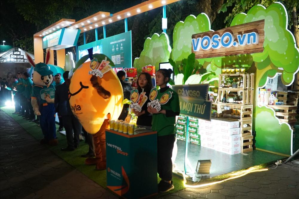 Rất nhiều gian hàng trưng bày sản phẩm từ nhiều thương hiệu Việt uy tín có mặt tại ngày hội năm nay.