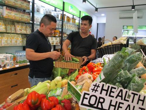 Giá thực phẩm hữu cơ khó giảm