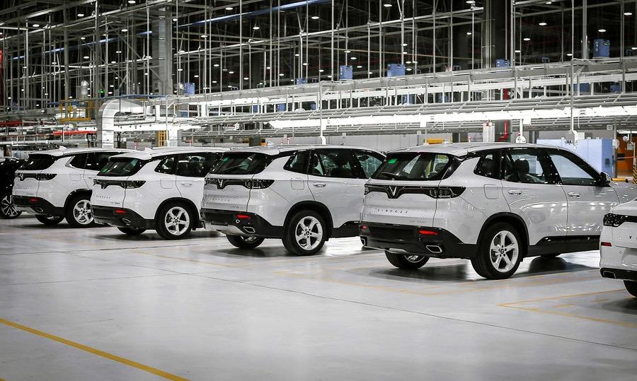 Đây là dự án có tỷ lệ nội địa hóa cao nhất vì có đầu tư xưởng dập thân vỏ xe và xưởng chế tạo động cơ.