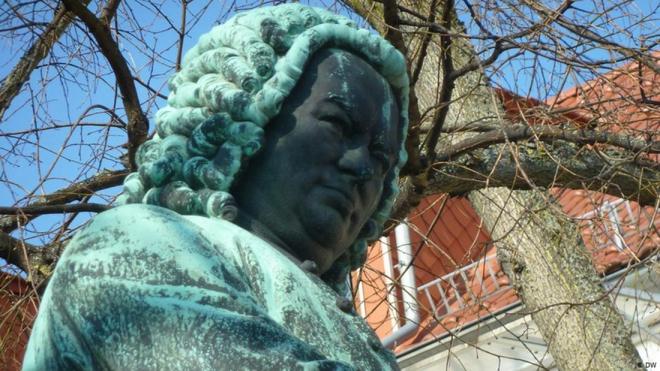 Bức tượng Bach ở Eisenach