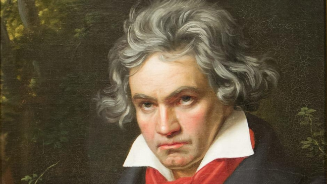 Chân dung nhà soạn nhạc Đức Beethoven
