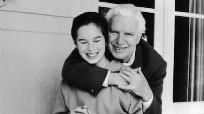 Charlie Chaplin và con gái