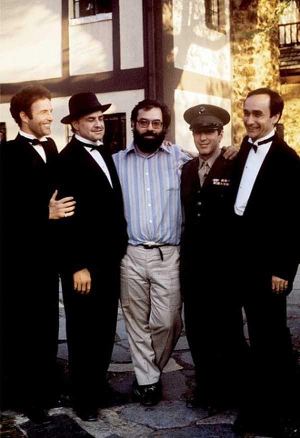 Đạo diễn Coppola (giữa) và các diễn viên chính