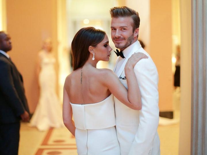 Nữ doanh nhân hạnh phúc bên chồng David Beckham