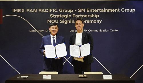 Tập đoàn SM Entertainment và Tập đoàn Imex Pan Pacific kí kết biên bản ghi nhớ hợp tác chiến lược