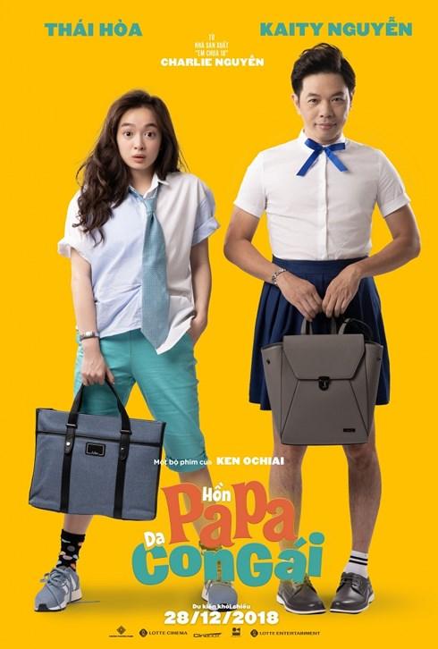Hồn Papa, da con gái do đạo diễn Ken Ochiai và nhà sản xuất Charlie Nguyễn phối hợp sản xuất.