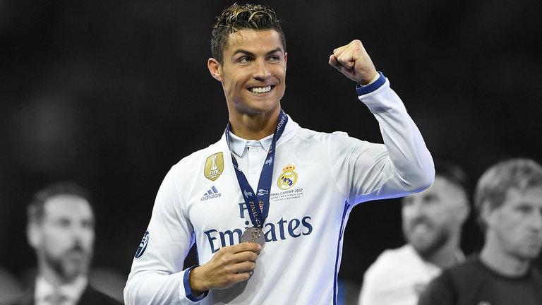 Ronaldo lên ngôi ở Cardiff cùng Real