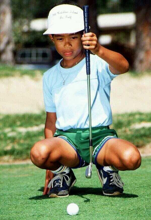 Tiger Woods là thiên tài golf