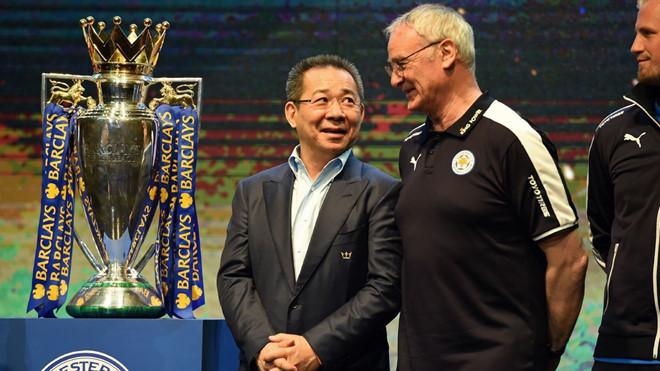 Tỷ phú Vichai người có công đưa Leicester City vô địch giải ngoại hạng Anh