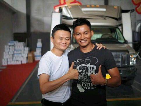 Tỉ phú Jack Ma đóng phim cùng Chân Tử Đan, Lý Liên Kiệt, Ngô Kinh - ảnh 3