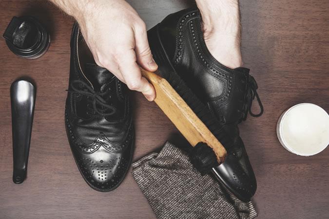 cách chăm sóc giày xịn