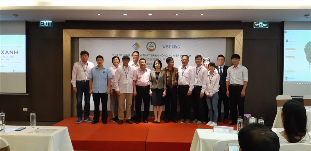 Các chủ trang trại Đài Loan đến Việt Nam chia sẻ kinh nghiệm làm du lịch nông nghiệp. Ảnh: T.Linh