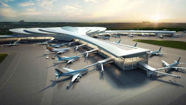 nhà ga sân bay long thành