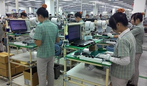 sản xuất điện thoại