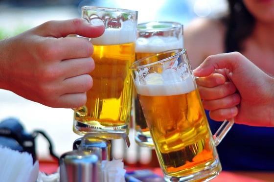 tiêu thụ bia