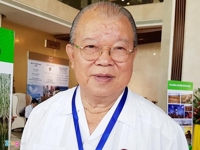 Giáo sư, Tiến sĩ Võ Tòng Xuân (Ảnh: Zing)