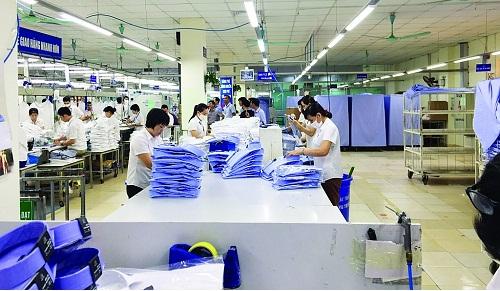xuất khẩu dệt may