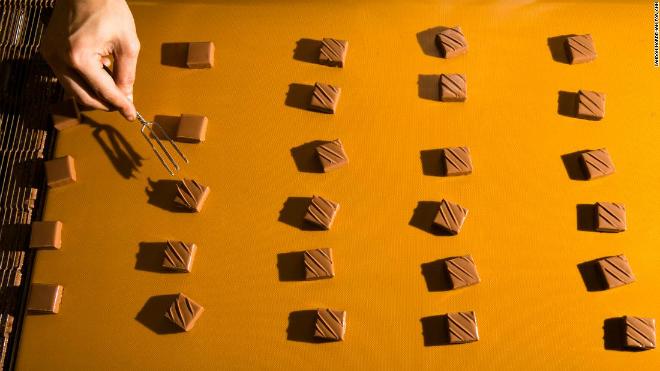 Thành phẩm chocolate của Torres