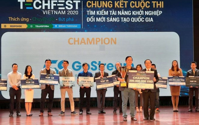 GoStream vô địch Techfest 2020