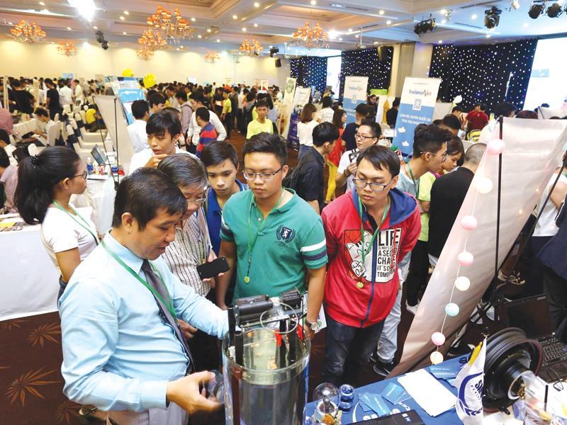 Cuộc thi khởi nghiệp do BSSC mới tổ chức tại TP.HCM.