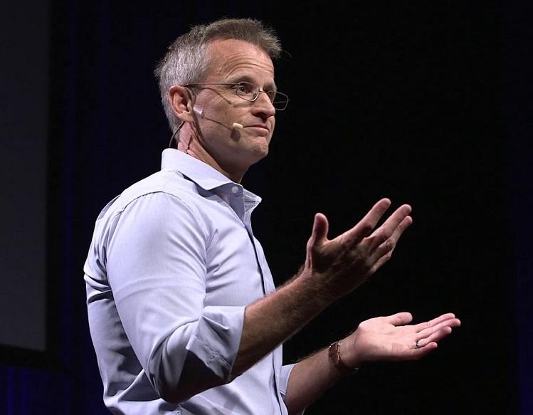 Ông Jeff Haden, chuyên gia kinh doanh và đổi mới