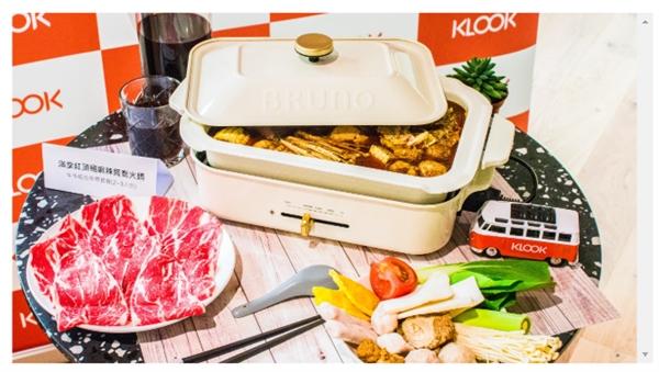 Trang web du lịch trực tuyến Hồng Kông Klook hiện cung cấp dịch vụ đặt nhà hàng và giao đồ ăn. Ảnh được cung cấp bởi Klook.