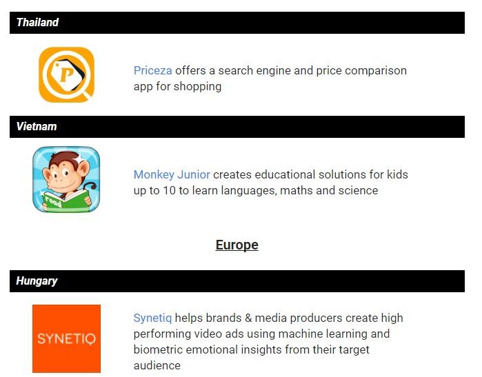 Monkey Junior là một trong 4 đại diện từ Đông Nam Á được Google lựa chọn.
