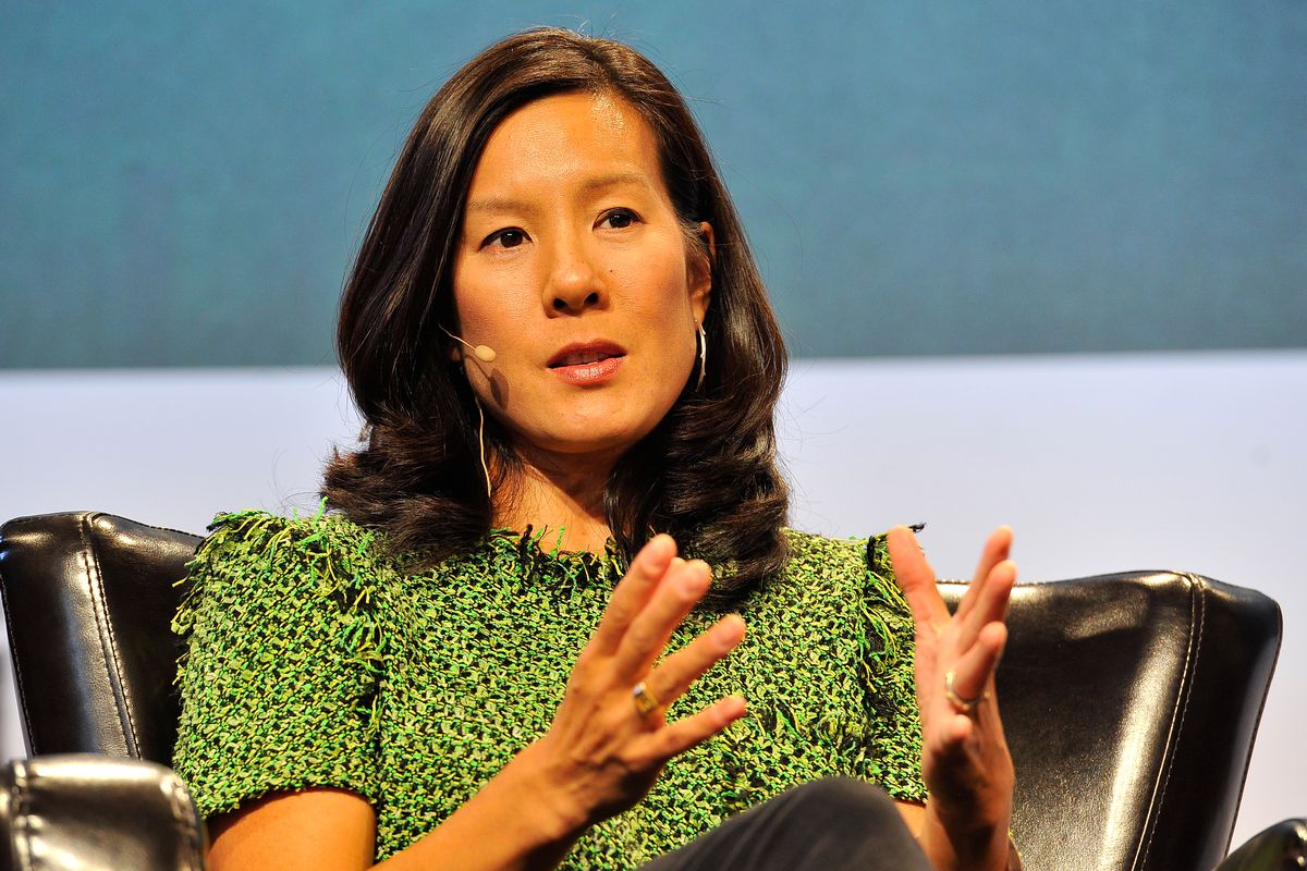 Nhà đầu tư mạo hiểm Aileen Lee, người đầu tiên dùng thuật ngữ kỳ lân để nói về startup tỷ USD. Ảnh: Getty Images.