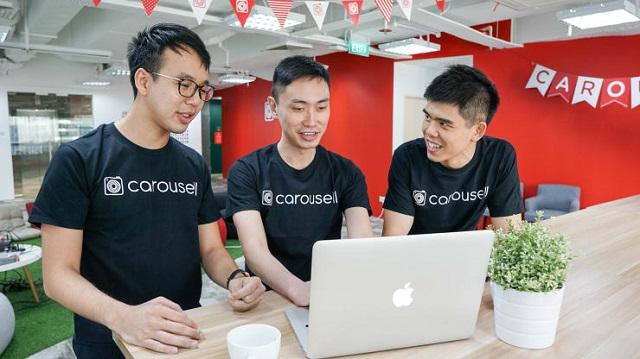 Startup này được dự đoán thành kỳ lân tiếp theo của Đông Nam Á. Ảnh: Carousell.