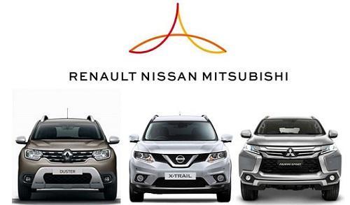 Nhật - Pháp nhất trí duy trì liên minh Renault, Nissan và Mitsubishi